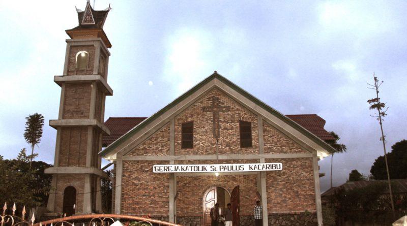 Gereja Katolik Stasi St. Paulus Kacaribu – Paroki SPP Kabanjahe
