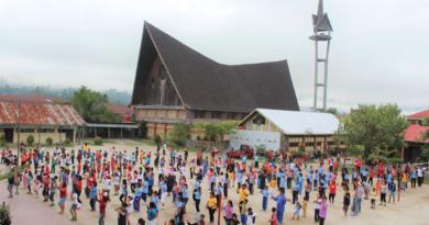 Semarak Pesta Paskah Rayon Paroki St. Maria Tarutung