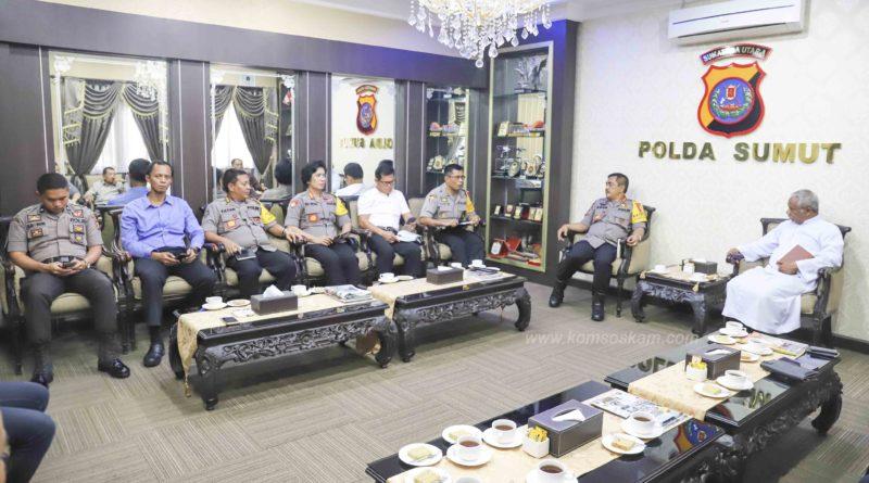 Kapolda Sumatara Utara Siap Amankan Tahbisan Uskup Agung Medan, Mgr. Kornelius Sipayung OFMCap.
