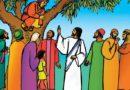 """APA MAKNA KISAH PERTEMUAN """"ZAKEUS DAN YESUS"""" ?"""